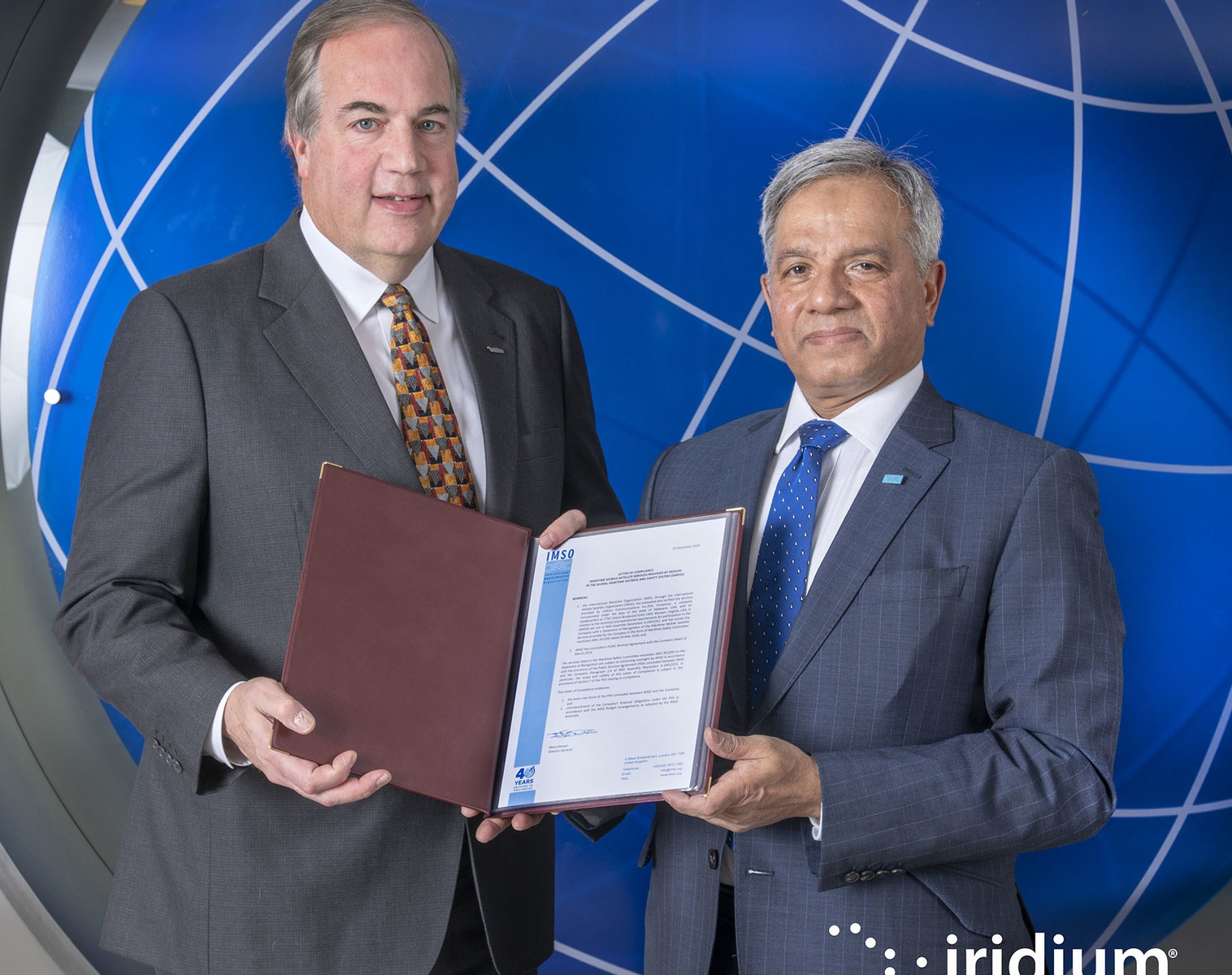 Iridium is Now Formally Authorized to Provide GMDSS Service
