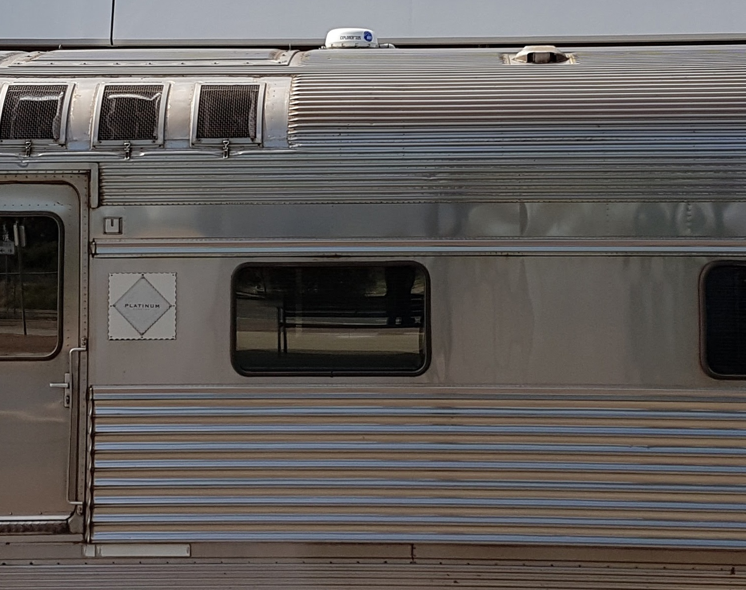 The Ghan 'Show from a train' | BGAN EXPLORER