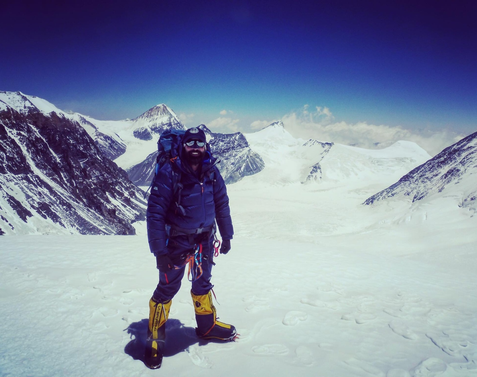 Jamie Ironmonger | Mind Everest Expedition | Thuraya X5 Touch