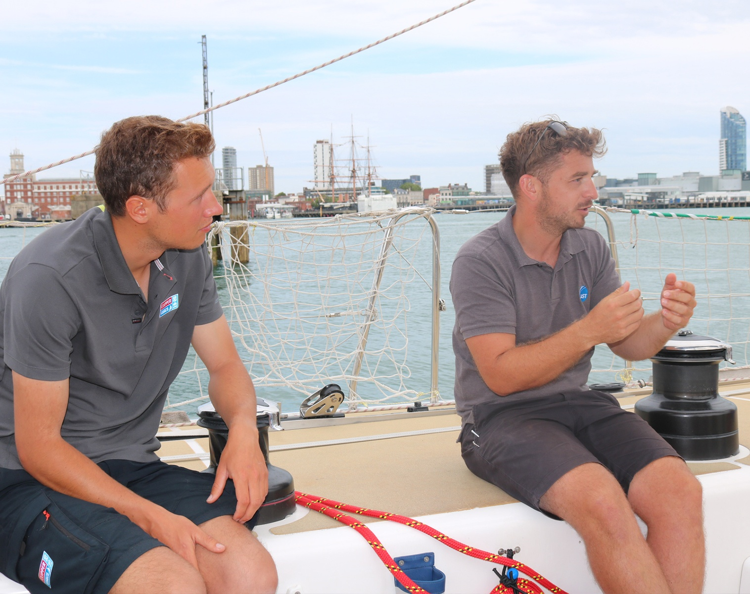 AST prepares Clipper Round the World Yacht Race Skippers to set sail
