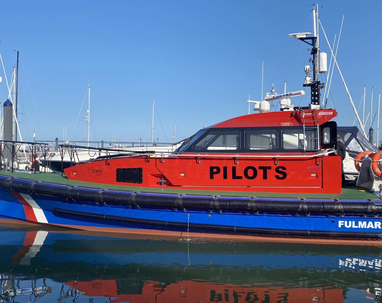 iRAMS telemetry enables remote monitoring of fast pilot vessel performance